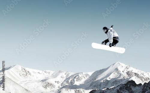 Papiers peints Glisse hiver Snowboarding sport