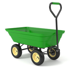 Green hand trolley