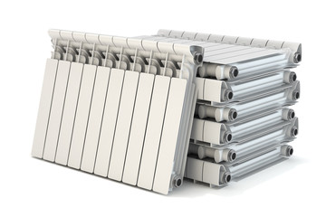 Group of heating radiators