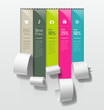Show colorful paper roll promotional products design