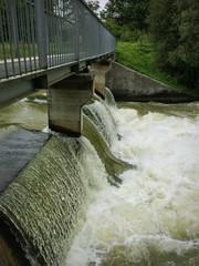 Hochwasser im Isar-Loisach-Kanal