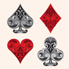 Playing Card Ornamental Vintages