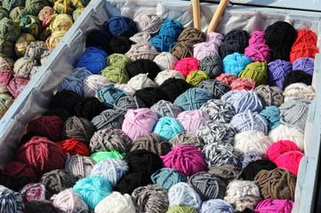 Box of wool
