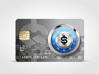 Dollar sign 7 - credit card