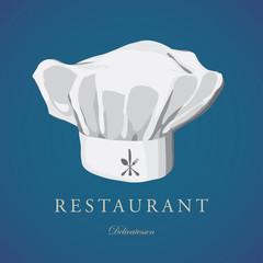 Chef hat Restaurant Catering Gastroservice Logo