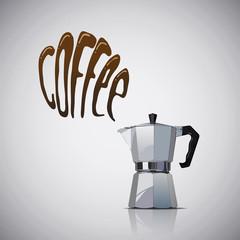 Cafe y cafetera
