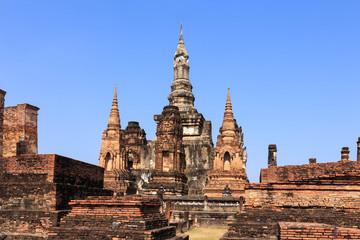 Wat Maha That, Shukhothai Historical Park, Thailand