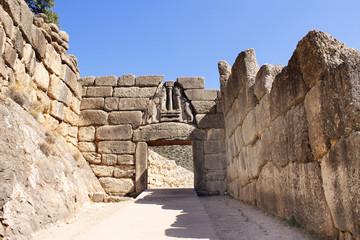 Lion Gate, Archaeological Site of Mycenae, Greece