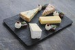cheese selection platter board