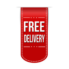 Free delivery banner design