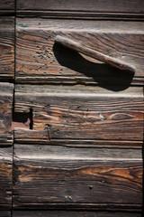maniglia di legno