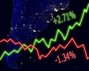 Argentina Map Stock Market