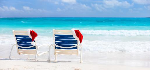 Christmas beach vacation