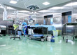 Operating room in a modern hospital