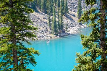 Canoe Morane Lake Canada