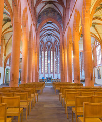 Church of the Holy Ghost or Heiliggeistkirche in Heidelberg, Ger