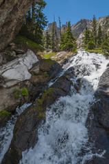Waterfall near Emerald Lake Colorado