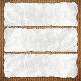 paper on chipboard background poster