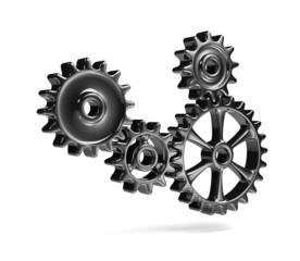 Metallic Cogwheels