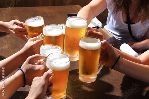 Aluminium Bier 乾杯