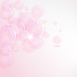 Soft colored abstract pink vector background for design EPS 10