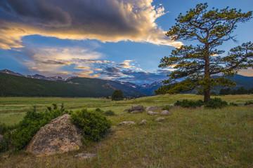 Colorado Rocky Mountain Landscape