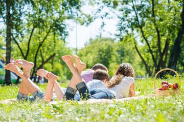 Weekend in park