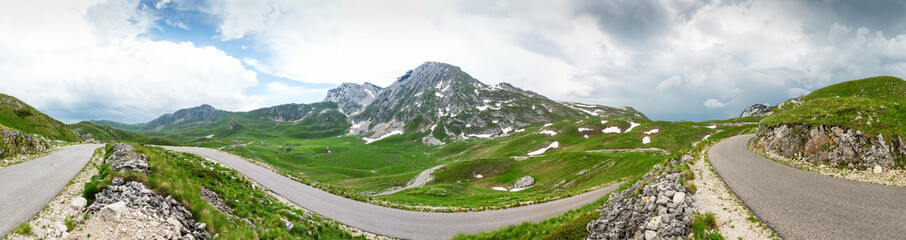 Mountains of Montenegro