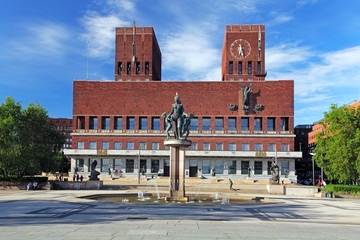 City Hall - Radhuset, Oslo, Norway