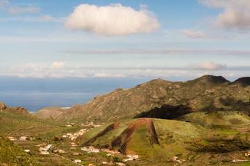 Blick zur Nordküste Teneriffas