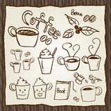 Fototapety Coffee set illustration
