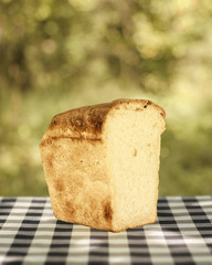 Home-cooked bread