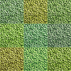 Green peas mix