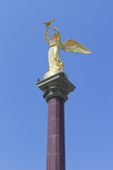 Скульптурная композиция Добрый ангел мира в Лазаревском