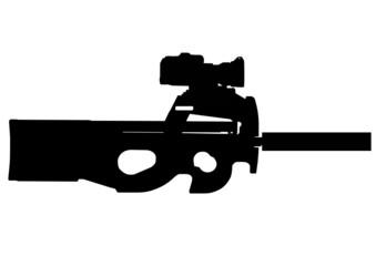 submashine rifle