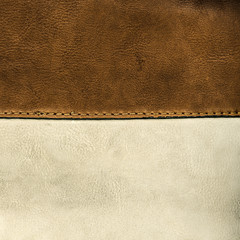 bicolour leather background