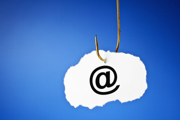 Phishing E-mail Concept