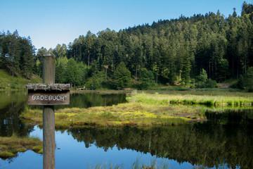 Nonnenmattweiher - friedlicher See im Schwarzwald
