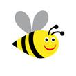 Obrazy na płótnie, fototapety, zdjęcia, fotoobrazy drukowane : Vector sign bee