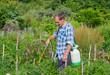 Gardener with sprinkler 3