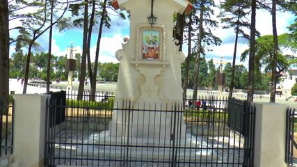 The religious center in the small town of Fatima in Portugal.