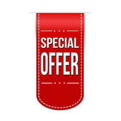 Special offer banner design