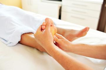 Die Fußmassage