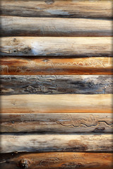Old Wood Texture .brown wooden wall background