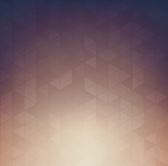 Blurred background with Geometric shapes pattern