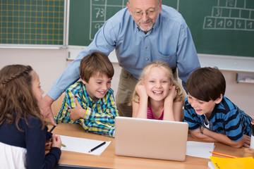 computer-unterricht für kinder