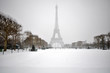 Snowstorm in Paris - 68318754