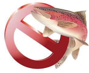 divieto pesca alla trota