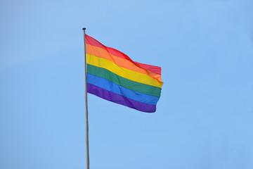 Regenbogenfahne, schwul, lesbisch, Homosexualität, Orientierung
