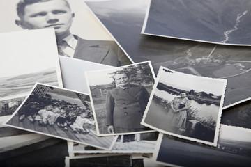 alte Fotos in schwarz weiß